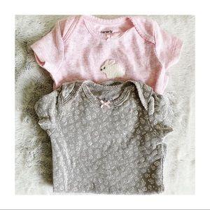 • Carter's • Baby Onesie Bundle